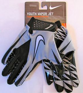 NEW Nike Vapor Jet Football Receiver Gloves YOUTH MEDIUM Magnigrip
