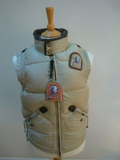 PARAJUMPERS P.J.S PARA JUMPERS MAN KOBUK JACKET NEW WITH TAGS CREME