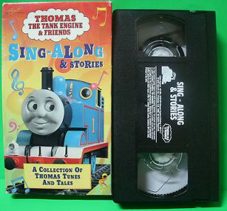 Thomas The Tank Engine & Friends Sing Along & Stories Children Kids
