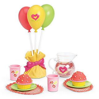 American Girl Birthday Party Treats Bitty Baby, McKenna, Kanani New