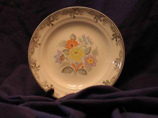 Crown Potteries Company Vintage Coffee Cup & Saucer CRP81**NO. 6 44