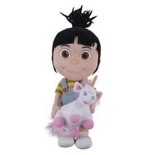 Despicable Me Agnes Holding Unicorn Plush Universal Studios Ride