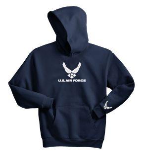 AIR FORCE HOODIE SWEAT SHIRT PULLOVER USAF MILITARY S M L XL XXL