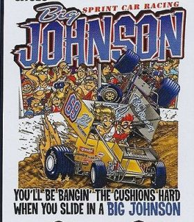 Big Johnson T Shirt Sprint Car Racing