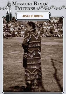 Missouri River Native American Womens Jingle Dress Sewing Pattern