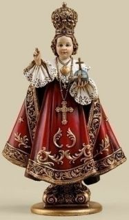 SALE! 8 Infant of Prague Statue Figurine Child Czech Avila Miraculous