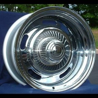 15 7&8 Chevy Chevelle Chrome Rally Wheels 1969 1977