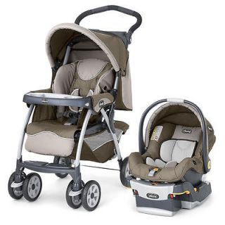 Chicco Cortina Travel System Stroller   Chevron
