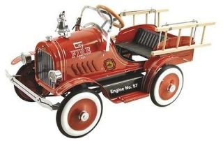 DEXTON KIDS DELUXE RIDE ON FIRE TRUCK PEDAL CAR DX 20233