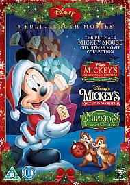The Ultimate MICKEY MOUSE Christmas DVD Collection NEW