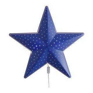 IKEA WALL LAMP BLUE STAR SOFT LIGHT LITTLE HEAT   CHILDRENS KIDS