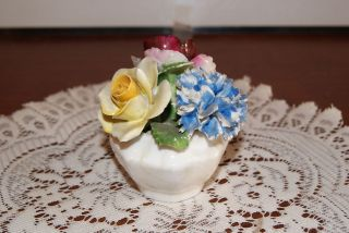 VINTAGE​RADNOR BONE CHINA FLOWER FIGURINE