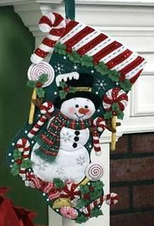 christmas stocking kits in Needlecrafts & Yarn