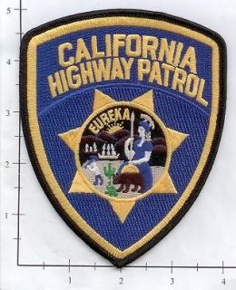 California   California Highway Patrol CA State Police Patch CHiPs