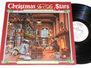 STAR WARS CHRISTMAS album Near Mint RARE PROMO in the