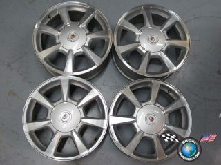 08 09 Cadillac CTS STS Factory 17 Wheels OEM Rims 4623 5x120