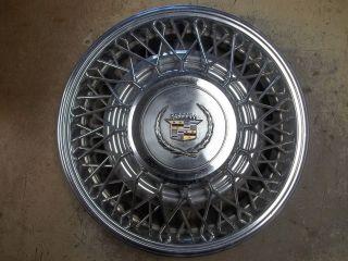 79 80 Cadillac Eldorado Seville Hubcap Rim Wheel Cover Hub Cap 15