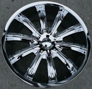 22 inch Incubu chrome wheels rims Honda Accord CRV