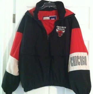 Chicago Bulls Mens Pullover Jacket (Size XL)