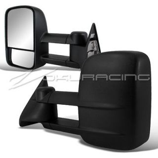 88 98 CHEVY C/K 1500 2500 C10 TRUCK TOWING MIRRORS PAIR POWER (Fits