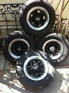 82 93 Chevy S10 GMC S15 14x6OEM Steel Rally Wheel Rims &Tires