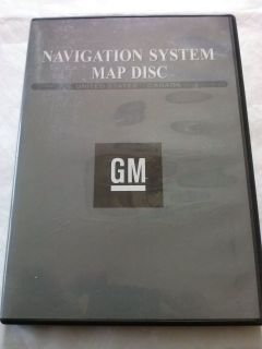 GM PONTIAC CHEVROLET CADILLAC NAVIGATION DISC DVD CD 15779679 DISK GPS