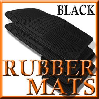 Cadillac CS ALL WEAHER BLACK RUBBER FLOOR MAS (Fis Cadillac CS)