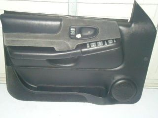 98 05 CHEVY S10 BLAZER JIMMY BRAVADA SONOMA DRIVER POWER DOOR PANEL