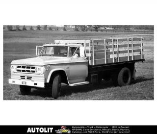 1969 Dodge D500 Stake Truck Factory Photo