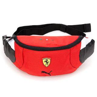 Brand New Puma Ferrari Fanny Waist Pack Bag in Red (07004301)