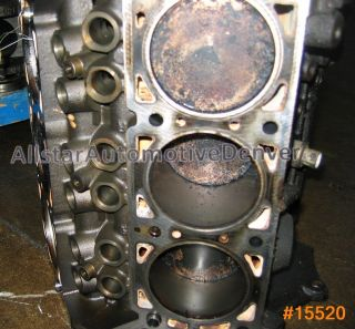 CHRYSLER 3.8L ENGINE REBUILDABLE SHORT BLOCK 1999 & UP #15520