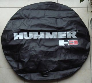HUMMER H3 Leather Spare Wheel Tire Cover 265/75R16, P285/70 R16 Good
