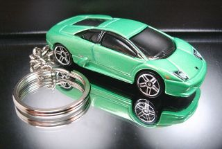 NEW Green Lamborghini Murcielago Keychain Key Ring Fob