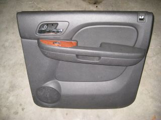 2007 2011 GMC Yukon Tahoe Escalade Right Rear Passenger door panel