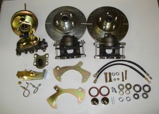 1965 1968 FORD GALAXIE FRONT DISC BRAKE CONVERSION