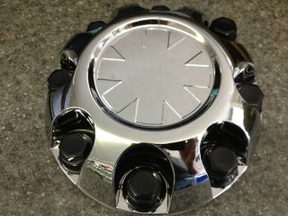 CHEVY GMC SIERRA SILVERADO YUKON 8 LUG RALLY WHEEL CENTER CAPS NEW