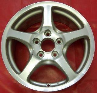 18 BLACK WHEEL RIM HONDA CIVIC S2000 MAZDA 3 6 VW JETTA V GOLF V