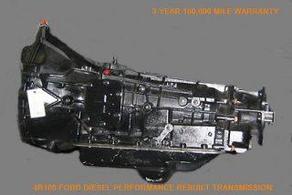 FORD 4R100 DIESEL PERFORMANCE REBUILT TRANSMISSION W/CONVERTER 1999