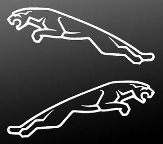 Jaguar Leaping Cat Car Sticker Set   Decals Leapers XJS X Type S Type