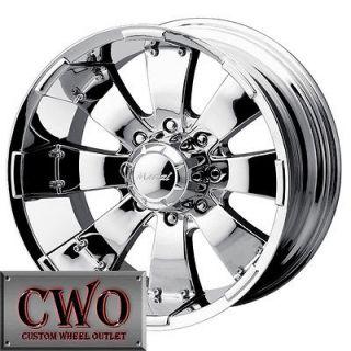 24 Chrome Mazzi Hulk Wheels Rim 6x139.7 6 Lug Chevy GMC 1500 Tundra