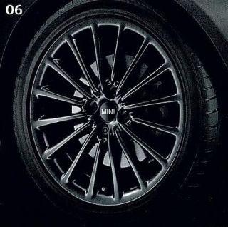 MINI Cooper 17 R108 Black Multi Spoke Rim Wheel OEM