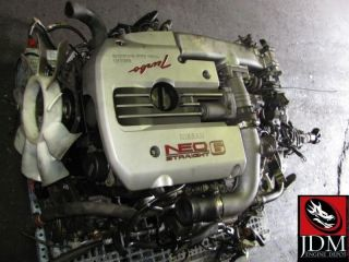 NISSAN SKYLINE R34 GTS TURBO ENGINE TRANS ECU SILVIA 240SX JDM RB25DET