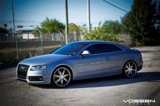 VVS086 Wheels 5 lug 112mm SILVER Car RIMS   AUDI / MERCEDES BENZ / VW