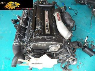 NISSAN SKYLINE R32 GTR TURBO ENGINE AWD 5 SPD MANUAL TRANSMISSION JDM