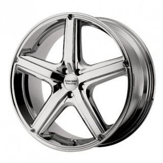 18 inch maverick chrome wheels rims 5x115 bonneville grand am grand