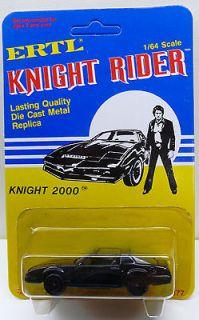 Knight Rider Pontiac Firebird 1982 Ertl 1/64 Scale MOC Hasselhoff Kitt