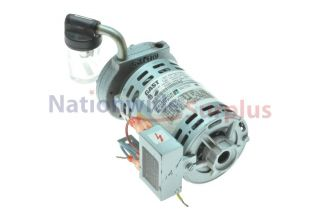 Gast 1/15 HP NSPP Vane Vacuum Pump 3450 RPM 100 115 Volts Model