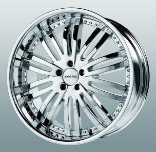 20 inch Verde Madonna Chrome Wheels Rims 5x4.25 V50 V70 XC60 XC70 XC90