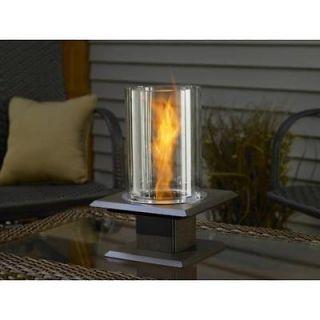 Indoor outdoor table top,patio,Venturi flame lamp fire pit,new,swirl