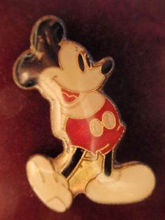 Vintage Walt DISNEY MICKEY MOUSE Lapel / Tie Tac / Collectors Hat Pin